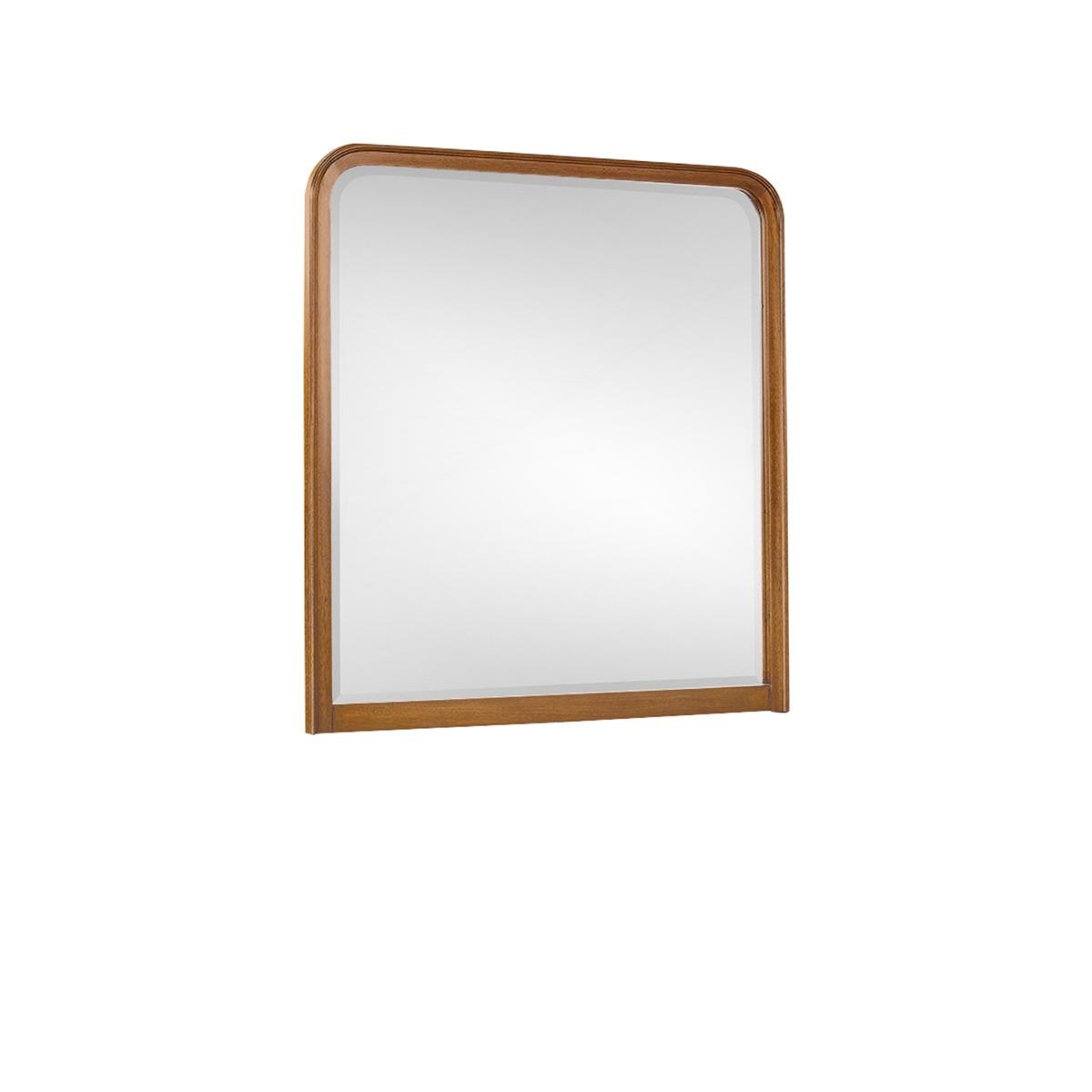 Audrey Dresser Mirror in Red Chestnut