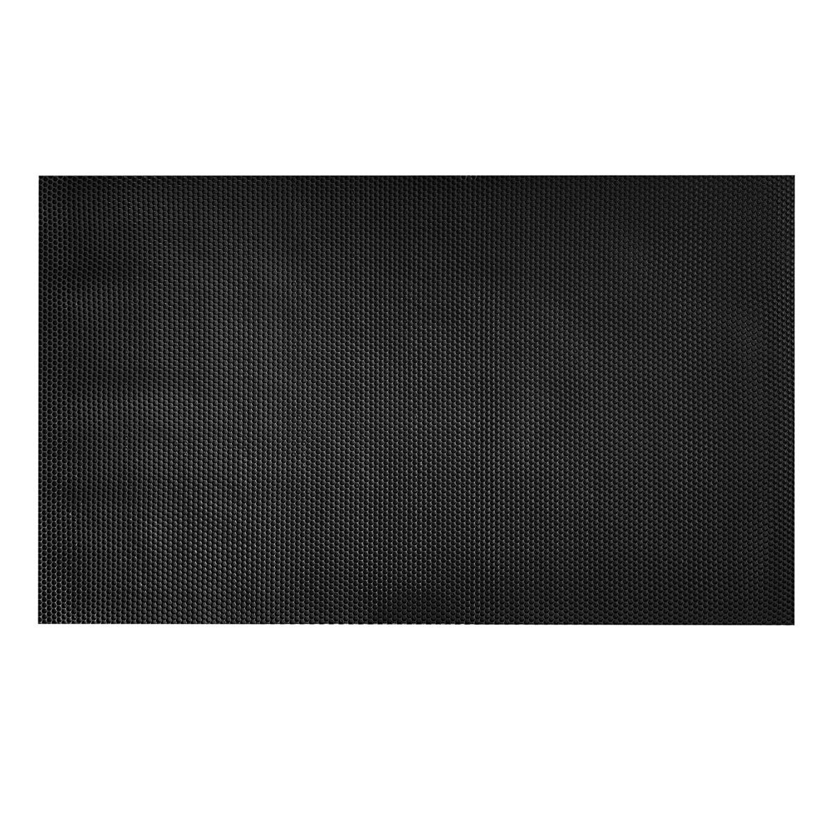 BBQ Medium HEX Floor Mat in Black