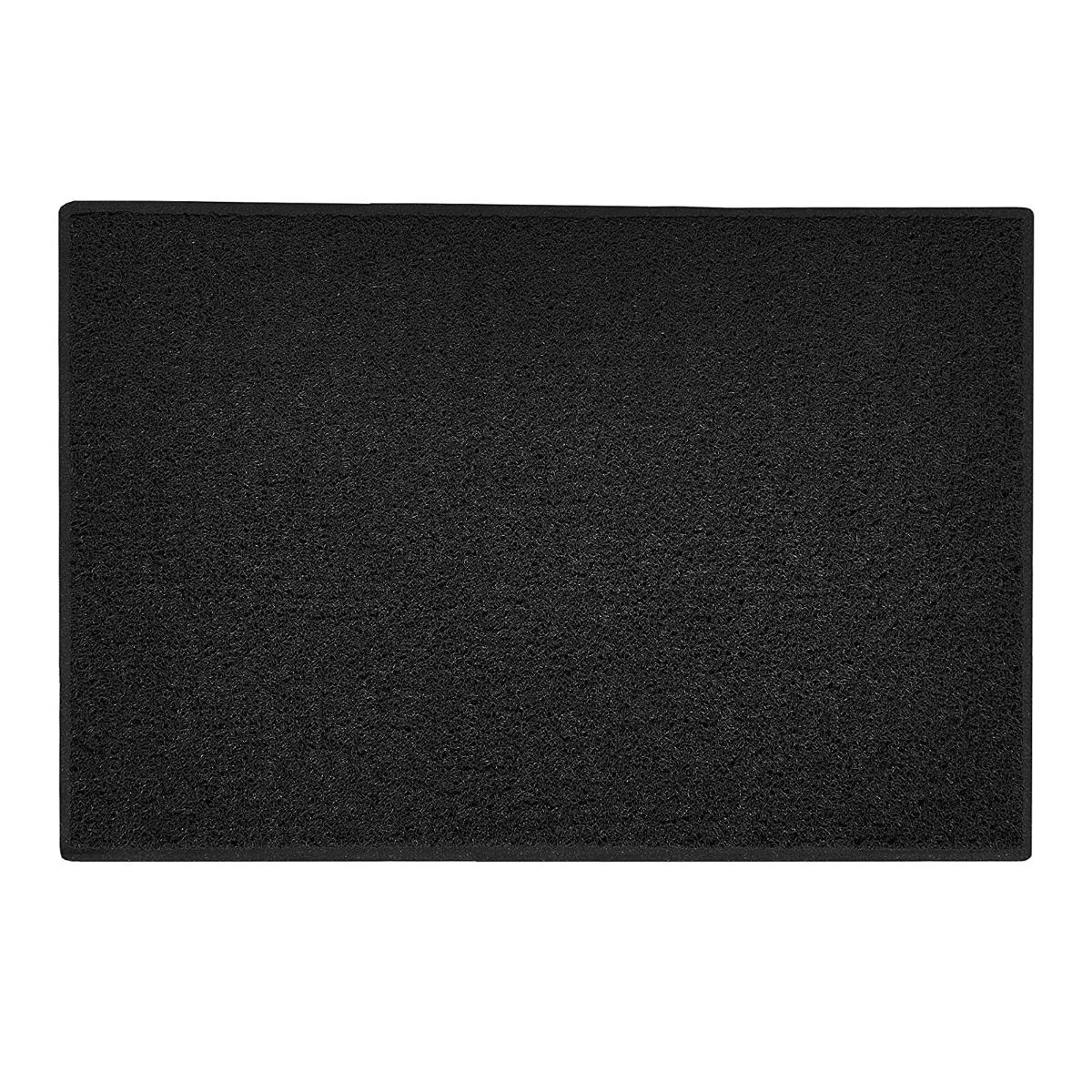 BBQ Protective Floor Mat in Black