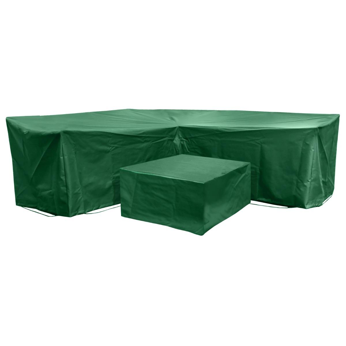 Acorn Corner L Shape Dining Cover Set in Green