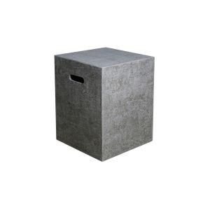 HPC Concrete Square Tank Cover in Light Grey