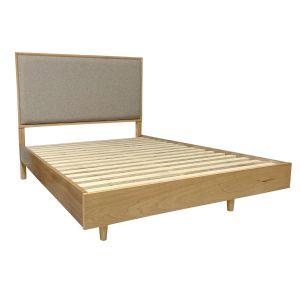 Scarlett King Size Bed in Golden Oak