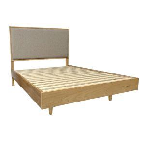 Scarlett Double Bed in Golden Oak