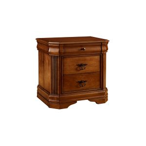 Plymouth Nightstand in Deep Walnut