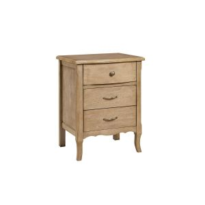 Skylar Nightstand in Weathered Oak