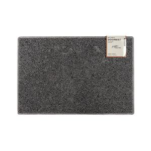 Plain Medium Doormat in Grey