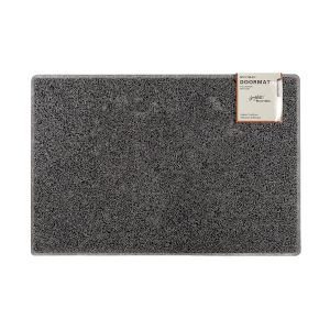 Plain Large Doormat in Grey