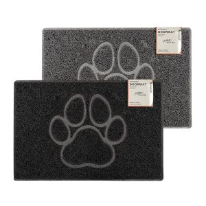 Paw Embossed Doormat Various Colours Sizes