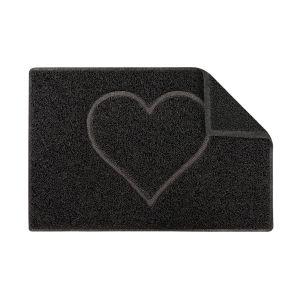 Heart Outdoor Embossed Doormat Various Sizes