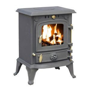 5.5kW Cast Iron Wood and Charcoal Burning Stove