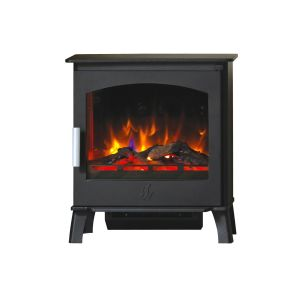 Astwood 2kw Holographic Electric Stove in Black