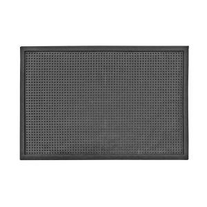 Dot Large Sanitizing Doormat in Black