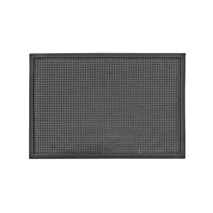 Dot Small Sanitizing Doormat in Black