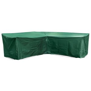 Medium Modular L Shape Sofa Cover in Green