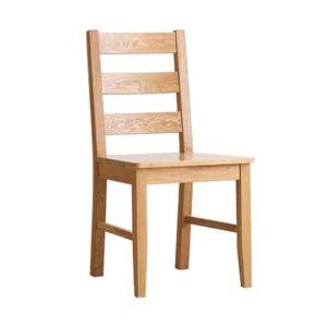 Aspen Oak Ladder Back Dining Chair (Set of 2)