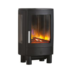 Neo 2kw Holographic Electric Stove in Black