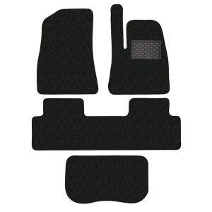 Tesla Model 3 4-Piece GECKO Car Mat Set in Black
