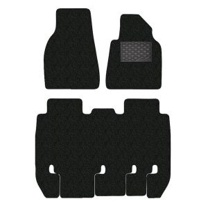 Tesla Model X 3-Piece GECKO Car Mat Set in Black