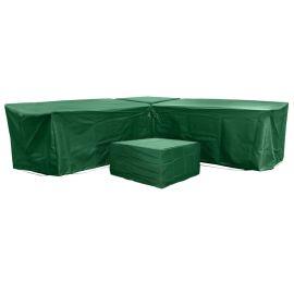 Malta 6 Seat Furniture Set Cover in Green