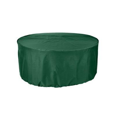 Green Premium 6-8 Seater Extra Large Circular Patio Set Cover