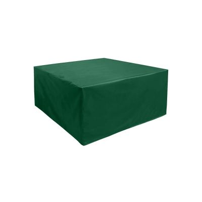 Square Coffee Table Cover in Green