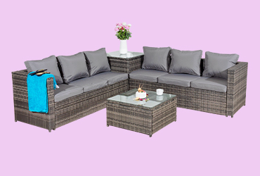 garden dining sets, garden sofa sets, garden chairs, garden tables, Garden tea for two sets, Recliners and sunbeds, Garden misc. furniture, Garden furniture covers, Parasols and awnings, Outdoor Cushions