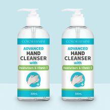 (Pack of 2) 300ml Advanced Moisturising Hand Sanitizer