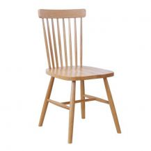 Windsor Oak Spindle Back Dining Chair (Set of 2)