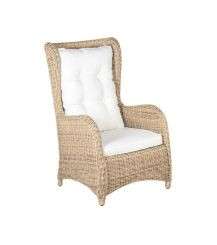 Kensington 5mm Rattan Arm Chair in 4 Seasons