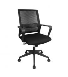 Sebastian Mesh Office Chair in Black