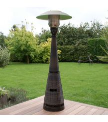 Gas Patio Heater in Brown